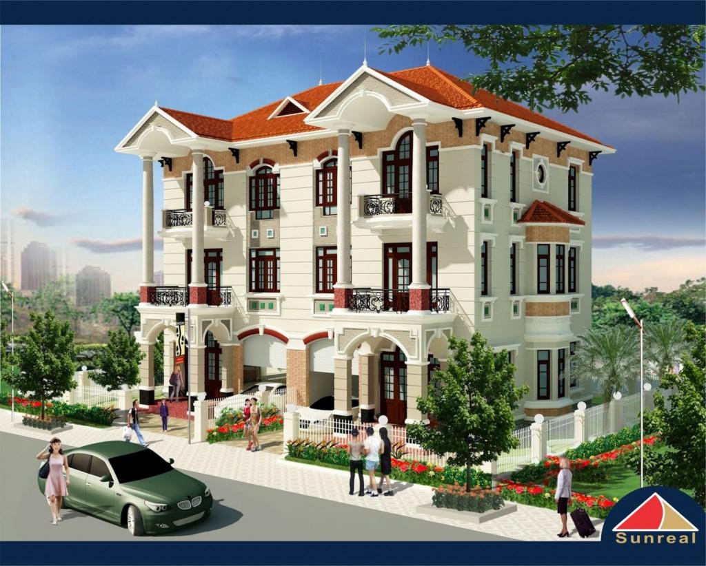 Mẫu nhà khu đô thị Bình Nguyên