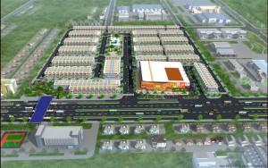 Tổng thể khu dân cư thương mại, khu dan cu thuong mai Phước Thái
