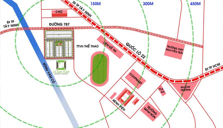 Tiện ích dự án khu phố thương mại Mai Anh