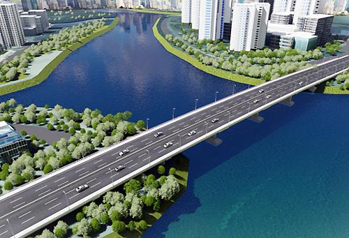TP.HCM khởi công cây cầu trị giá 500 tỷ qua đảo Kim Cương